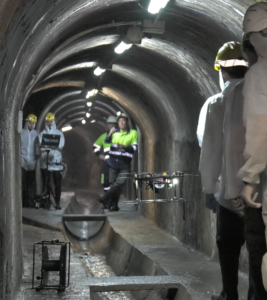Testing ARSI in the sewers of Barcelona, July 2016