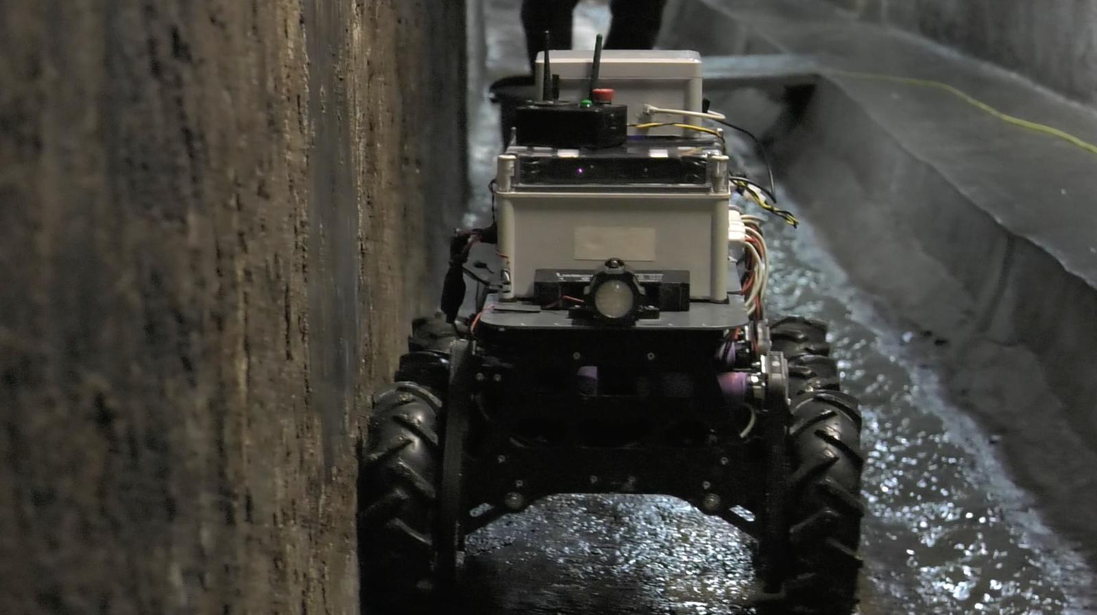 SIAR - Sewer Inspection Autonomous Robot - The European